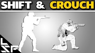 SHIFT & CROUCH - CS:GO Noob to Pro Tips