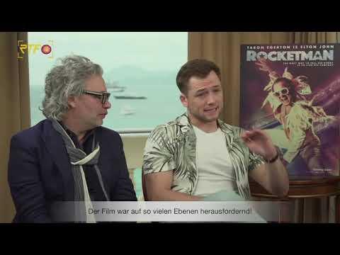Rocketman - Interview Mit Taron Egerton & Dexter Fletcher   RTF1 Cinenews