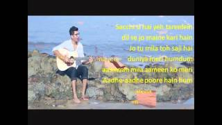 Lyrics Jeena Jeena Badlapur Darshan Raval Reprised Version