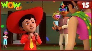 New Cartoon Show  Chacha Bhatija  Wow Kidz  Hindi Cartoons For Kids  Surprise Party