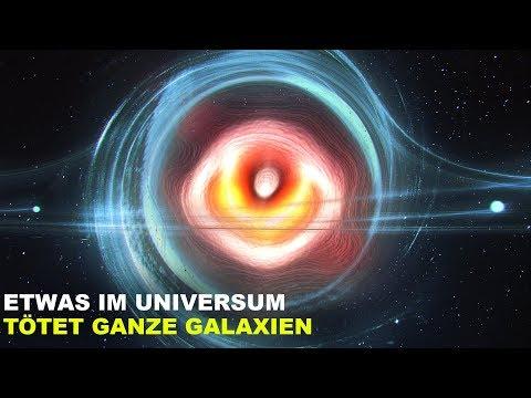 Etwas im Universum Tötet Ganze Galaxien.