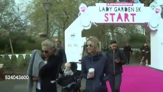 Gambar cover April 23, 2016 Charity Marathon Lady Garden campaign, London Cara
