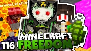 KRIEG GEGEN PING LING! & GLP TÖTET MICH MIT PLASMAGRANATE?! ✪ Minecraft FREEDOM #116   Paluten