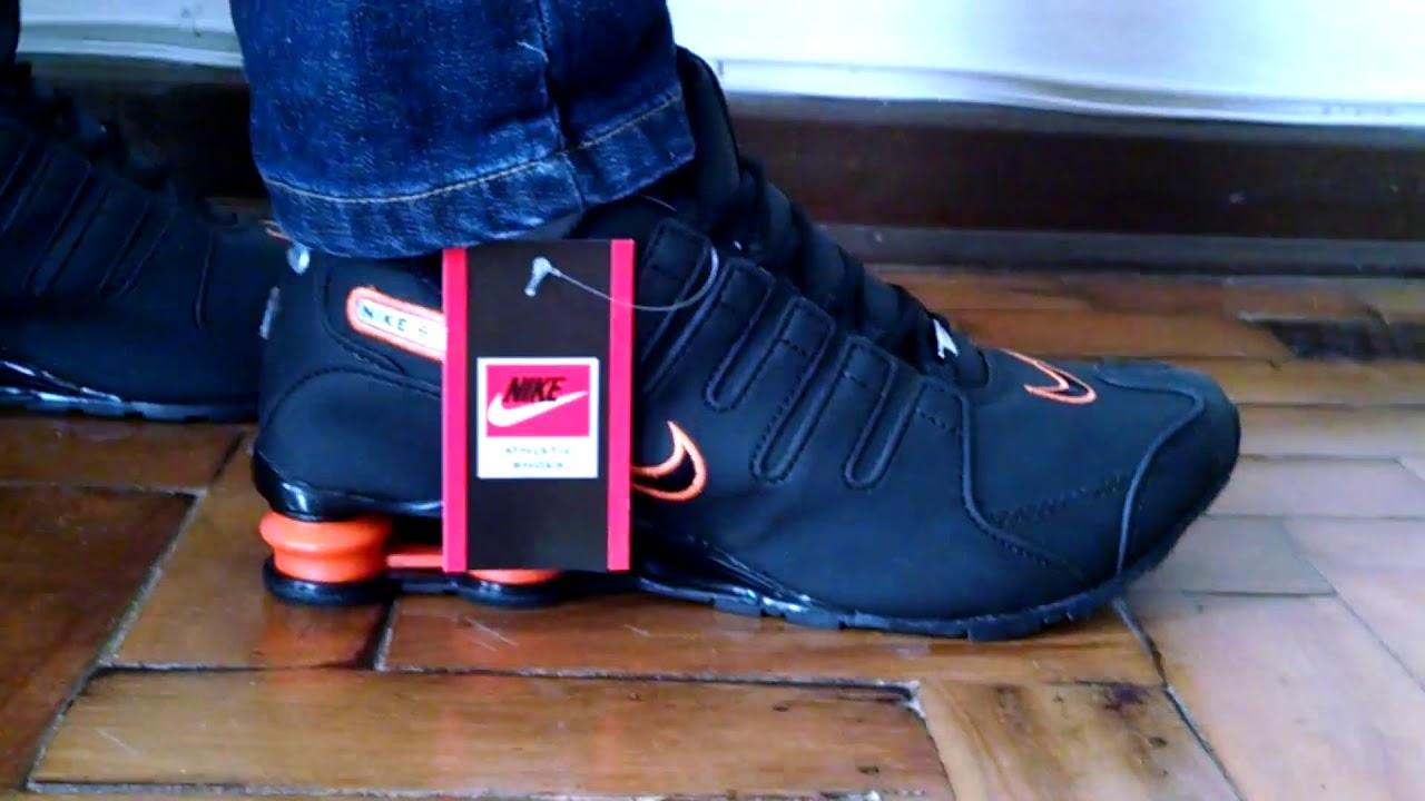 3f5b318d95 Tênis Nike Shox 4 Molas Original Importado