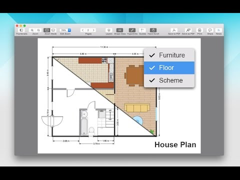 Visio Viewer for Mac -  Layers