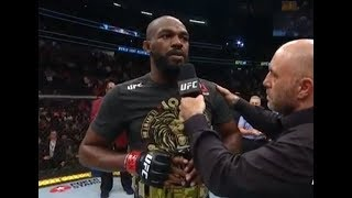 UFC 239: Jon Jones & Thiago Santos Octagon Interview