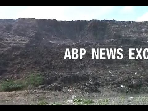 Portion of Ghazipur landfill site falls on vehicles; rescue operation on