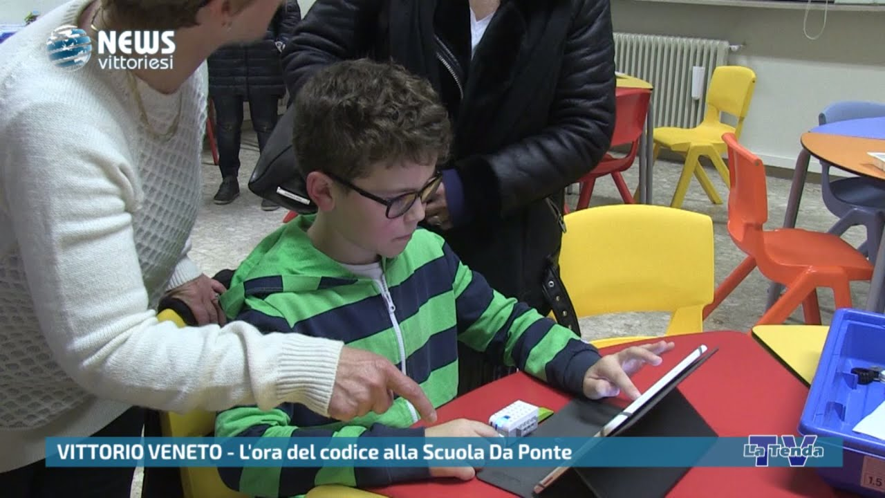 News vittoriesi - L'ora del codice alla Scuola Da Ponte