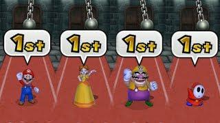 - Mario Party 9 Garden Battle Mario vs Daisy vs Wario vs Shy Guy Cartoons Mee