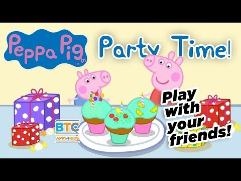 Peppa Pig: Party Time App for Kids