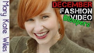 December Fashion Video Bloopers (with Sean Persaud)! Thumbnail