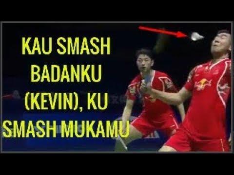 Free Download Aksi Sadis, Gara Gara Ini, Kevin Membalas Menyemash Mukanya! Badminton Trending Mp3 dan Mp4