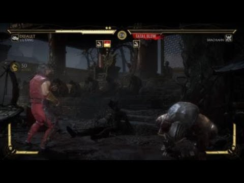 Liu Kang Bicycle Kick 340 HITS - Mortal Kombat 11