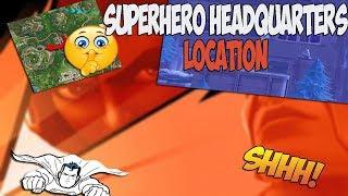 *NEW* HIDDEN SUPERHERO HQ (Fortnite Battle Royale Easter Eggs)