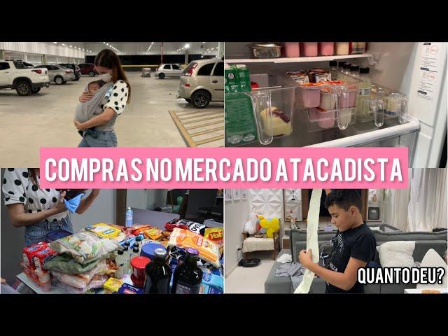 COMPRAS DO MÊS - PRIMEIRA VEZ NO MERCADO DEPOIS DE MESES - TUDO MUITO CARO!