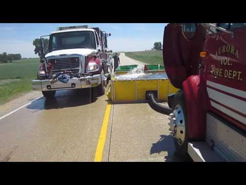 Part 1 - Rural Water Supply Drill - Stanley, Iowa - June 2017