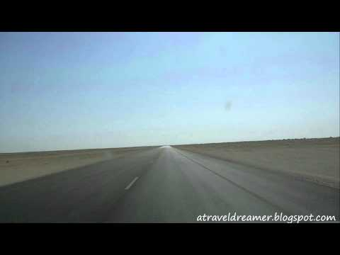 Muscat To Salalah Road Trip - Timelapse