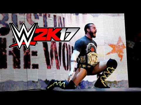 CM Punk Entrance WWE 2K17