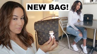 WHATS IN MY LOUIS VUITTON BAG? | Marie Jay