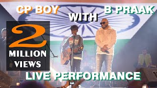 A Street Kid Performing With B Praak On Stage | Teri Mitti Mein Mil Java | Kesari Movie | shivam