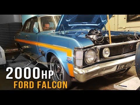 2000+hp Ford XW Falcon!
