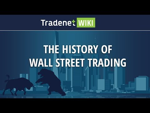 The History of Wall Street Day Trading