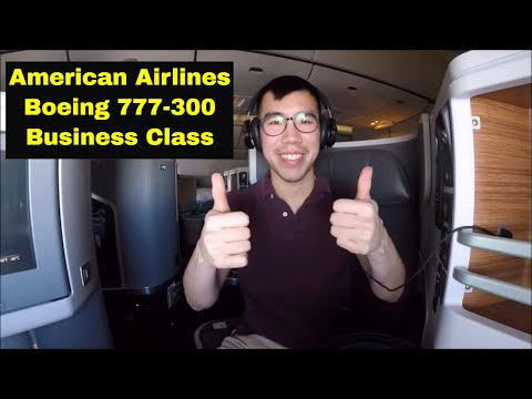The American Airlines 777-300 Business Class DFW-HKG Experience