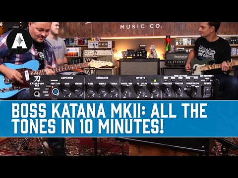 Boss Katana MkII - Lets Try It With An Andertons Band!