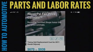 How to Find Parts and Labor Prices for Automotive Repair