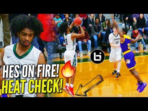 Coby White Is UNSTOPPABLE! Mickey D's AA Drops 45 vs John Wall's Old HS!