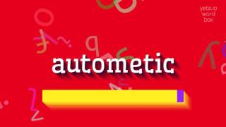 How to say autometic High Quality Voices