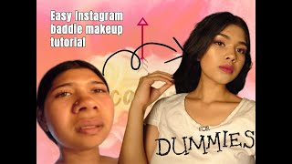 easy instagram baddie makeup tutorial for dummies