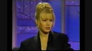 Jennie Garth on Arsenio Hall - 1992