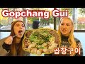 [Now in Korea] REACTION to GOPCHANG GUI(곱창 구이) - One of BTS's Favorites