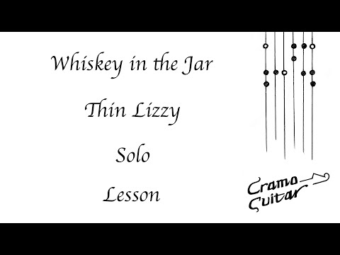 How To Play - Whiskey In The Jar  - Thin Lizzy - Solo
