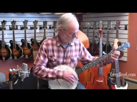 Like New Deering Vega Old Tyme Wonder Banjo - YouTube
