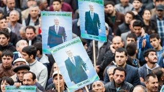 Баку: предвыборный митинг оппозиции(5 октября в Баку прошел заключительный предвыборный митинг оппозиции. Кандидат в президенты Азербайджана..., 2013-10-05T20:20:18.000Z)