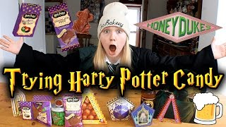 TRYING HARRY POTTER CANDY!