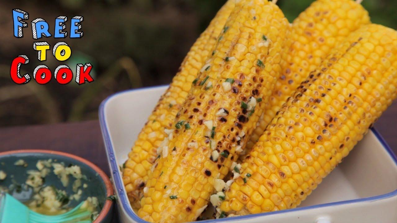 peeling corn on the cob hack