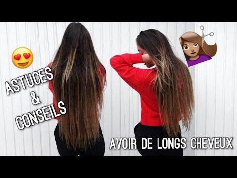 Pour avoir de longs cheveux rapidement
