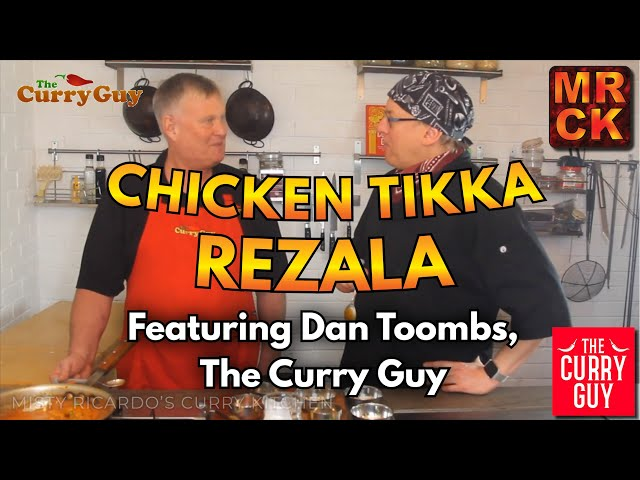 Chicken Tikka Rezala - Misty Ricardo & Dan Toombs (The Curry Guy) Collaborate