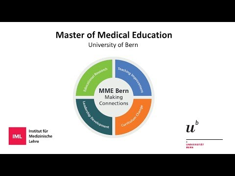 Master of Medical Education of the University of Bern (MME Bern)