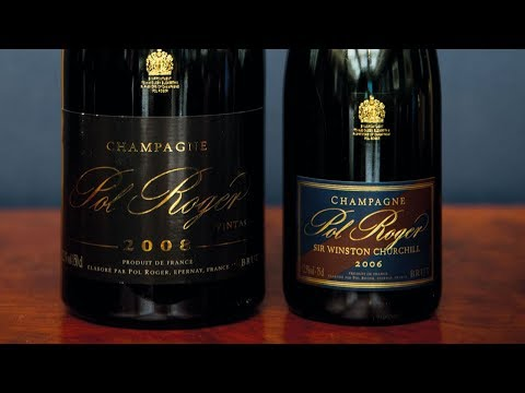 Prestige Cuvée vs Vintage Champagne with Jancis Robinson - Pol Roger Champagne Pair 7/8