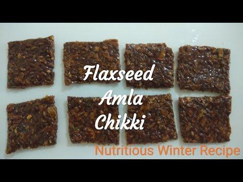 Flax seed Amla Chikki |Healthy | Prasadam |  The Cooking Hub