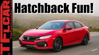 2017 Honda Civic Hatchback Review: Turbo + Manual = Fun!