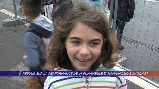 Yvelines | Retour sur la performance de la funambule Tatiana-Mosio Bongonga