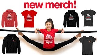 EXTREME Acrobat Tries Out NEW MERCH!!