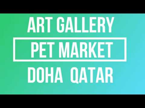 Qatar art gallery and pet market doha
