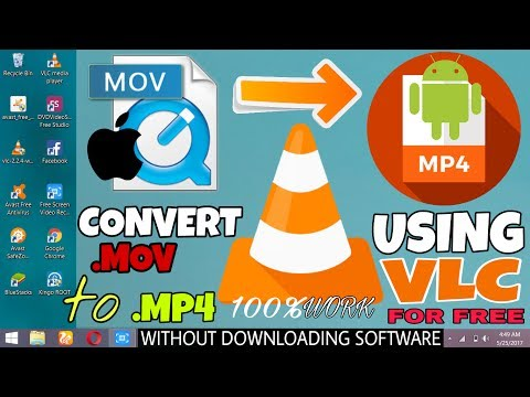 Convert Mov to Mp4 Format Using VLC  Easiest Way 2017