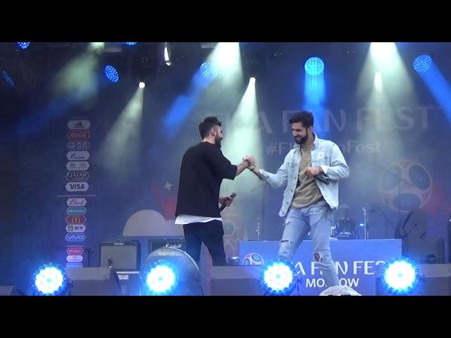 Elman feat Самвел Варданян(#FIFAFanFest,Воробьёвые Горы,26.6.18)